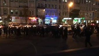 Киевские ультрас сорвали фанатское перемирие. Видео