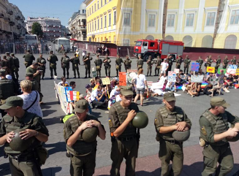 ЛГБТ-парад в Одессе