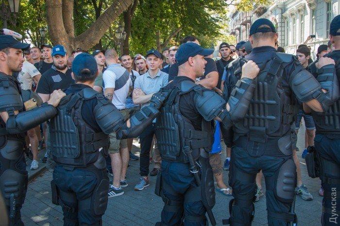 Противники гей-парада в Одессе