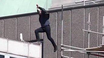 Том Круз травмировался на съемках шестого фильма Миссия невыполнима