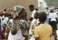 Жительницы Республики Буркина Фасо.