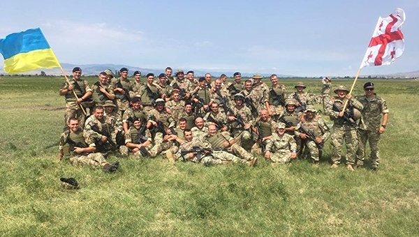 ВГрузии завершились военные учения сучастием Украины иНАТО