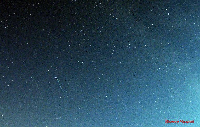 Метеоритный дождь Персеиды