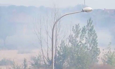 Пожары в Мариуполе