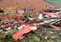 Последствия оползня в Сьерра-Леоне