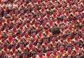 В Индонезии 10000 мужчин одновременно исполнили народный танец Саман