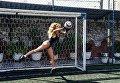 Участницы конкурса «Miss Bum Bum 2017» сыграли в футбол