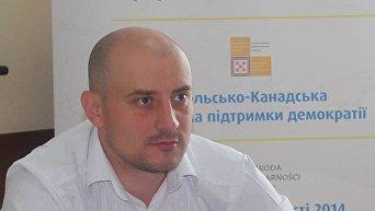 Александр Слобожан, исполнительный директор Ассоциации городов Украины