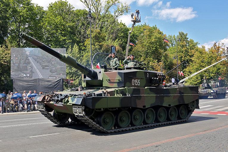 Военный парад в Варшаве