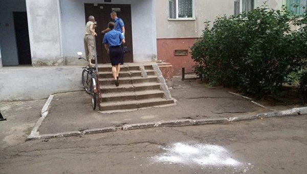 В Николаеве выбросили собаку с 9-го этажа