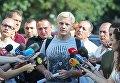 Виталий Шабунин отвечает на вопросы журналистов