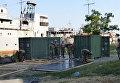 Строительство базы ВМС Украины в Очакове