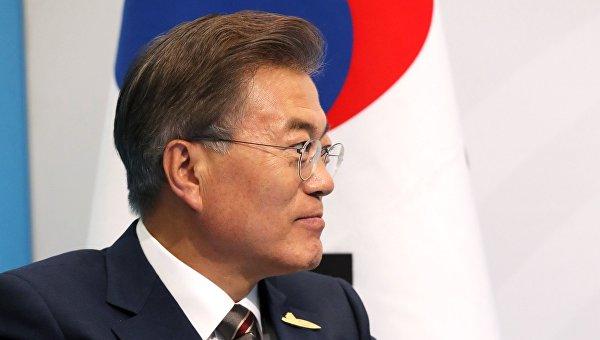 Президент Южной Кореи объявил оготовности квстрече сКим Чен Ыном