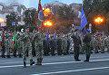 Репетиция военного парада ко Дню Независимости