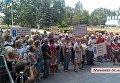 В Николаеве работники завода пикетируют здание ОГА
