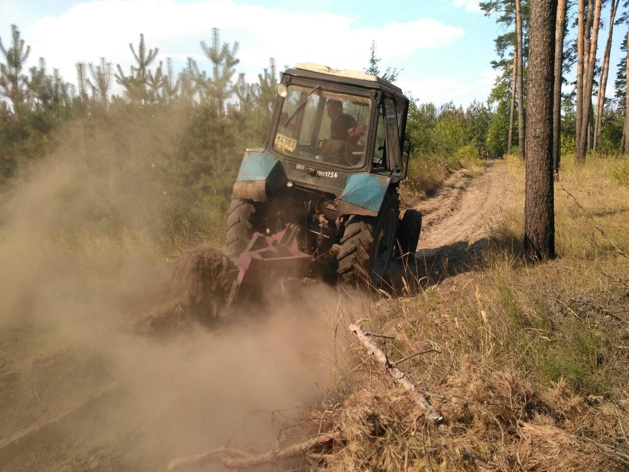 Cотрудники экстренных служб локализовали пожар вХарьковской области
