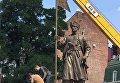 Памятник атаману Сирко в Харькове