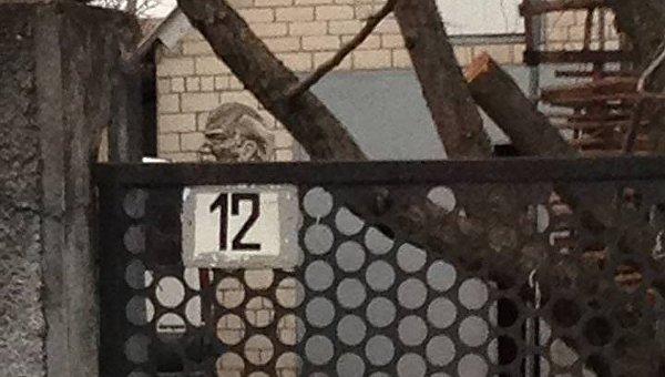Один из барельефов Ленина на доме депутата Николаевского облсовета