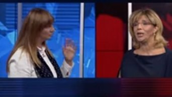 Оксана Корчинская vs Ольга Богомолец. Видео
