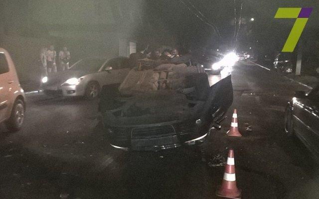 Ночное ДТП вОдессе: одному человеку оторвало руку