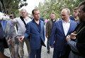 Рабочая поездка президента РФ В. Путина и премьер-министра РФ Д. Медведева в Крым
