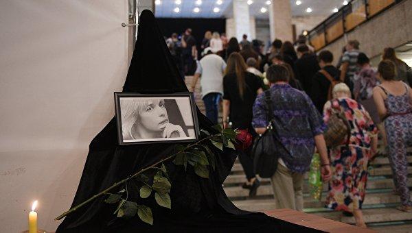 Прощание с актрисой Верой Глаголевой