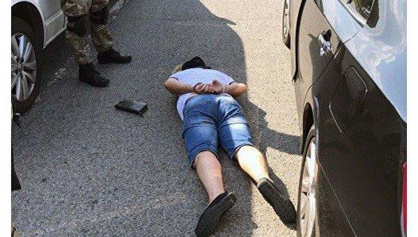 Задержание криминального авторитета в Житомирской области