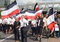 Марш неонацистов в Берлине