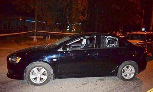 В Виннице водители Land Rover и BMW устроили стрельбу на дороге