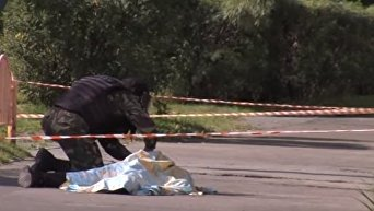 Кровавое нападение в Сургуте. На месте ликвидации преступника. Видео