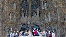 Собор Саграда Фамилия в Барселоне