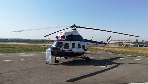 Первый украинский вертолет Надежда