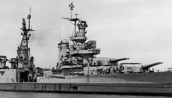 Американский крейсер Индианаполис