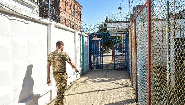 Помещения Одесского следственного изолятора, 20 августа 2017