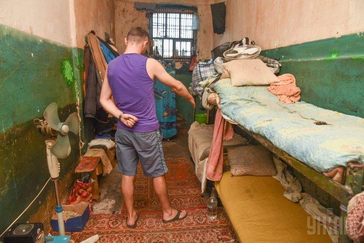 Камера, в которой сидел убийца сотрудницы Одесского следственного изолятора, 20 августа 2017