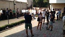 В Одессе заблокировали выезд из СИЗО, где произошло зверское убийство