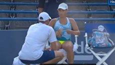 Ссора теннисистки Путинцевой со своим тренером взорвала интернет.Видео