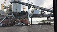 Отправка первой партии антрацитового угля в Украину из США
