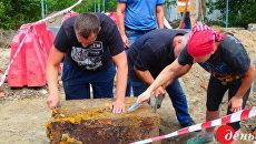 В Виннице нашли таинственный сейф нацистов
