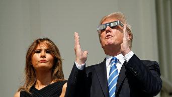 Полное солнечное затмение в США