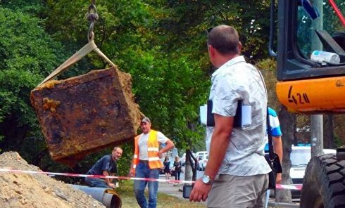 В Виннице обнаружили немецкий сейф