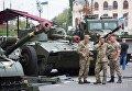 Выставка военной техники открылась в центре Киева