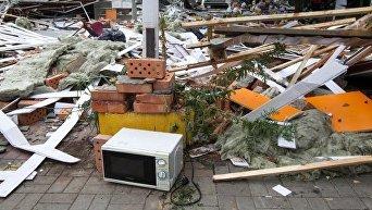 Демонтаж МАФов. Разруха. Архивное фото