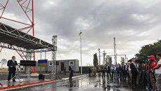 Выступление президента Петра Порошенко в Луганской области