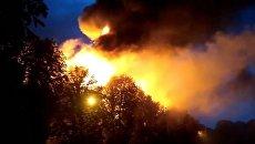 В Харькове горит здание областного Апелляционного суда