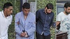 Подозреваемые по делу о терактах в Каталонии