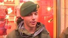 Репетиция военного парада ко Дню Независимости Украины. Видео