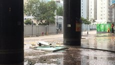Тайфун Hato в Гонконге