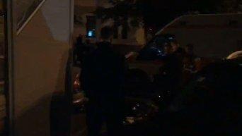 Убийство мужчины в центре Киева. Видео