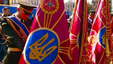 На Майдане почтили минутой молчания память погибших во время АТО